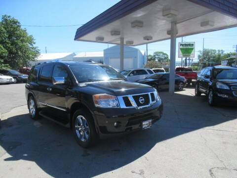 2011 Nissan Armada for sale at Perfection Auto Detailing & Wheels in Bloomington IL
