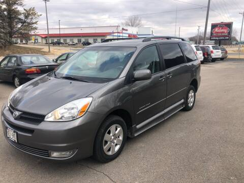 2005 Toyota Sienna for sale at Midway Auto Sales in Rochester MN