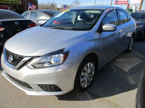 2016 Nissan Sentra for sale at A & A IMPORTS OF TN in Madison TN
