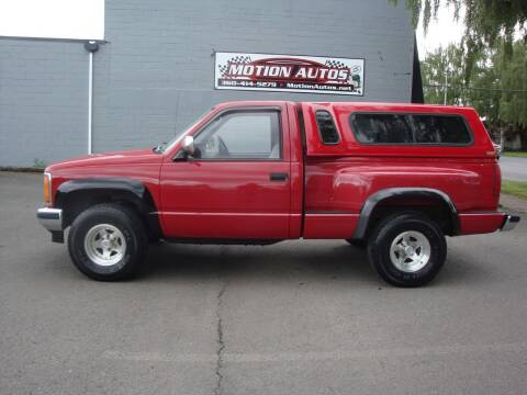 1989 GMC C/K 1500 Series for sale at Motion Autos in Longview WA