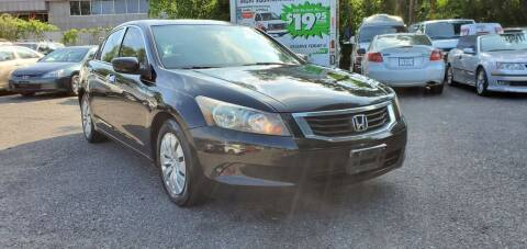 2009 Honda Accord for sale at Moor's Automotive in Hackettstown NJ