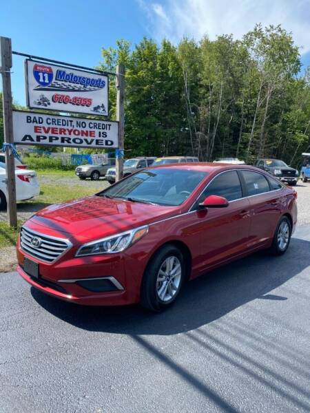 2016 Hyundai Sonata for sale at ROUTE 11 MOTOR SPORTS in Central Square NY