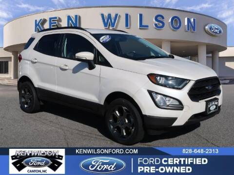2018 Ford EcoSport for sale at Ken Wilson Ford in Canton NC