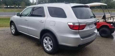 2012 Dodge Durango for sale at COLLECTABLE-CARS LLC in Nacogdoches TX