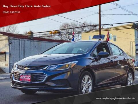 2016 Chevrolet Cruze for sale at Buy Here Pay Here Auto Sales in Newark NJ