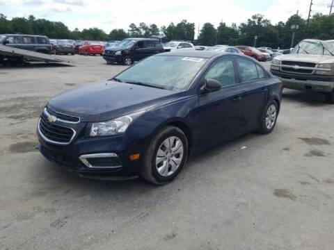2015 Chevrolet Cruze for sale at Auto Wholesalers Of Rockville in Rockville MD