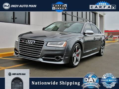 2016 Audi S8 for sale at INDY AUTO MAN in Indianapolis IN