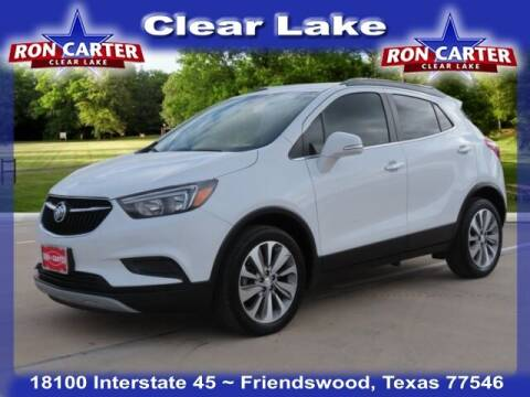 2019 Buick Encore for sale at Ron Carter  Clear Lake Used Cars in Houston TX