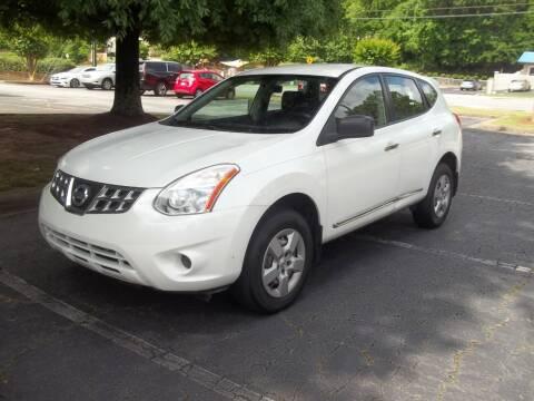 2012 Nissan Rogue for sale at Key Auto Center in Marietta GA