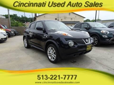 2011 Nissan JUKE for sale at Cincinnati Used Auto Sales in Cincinnati OH