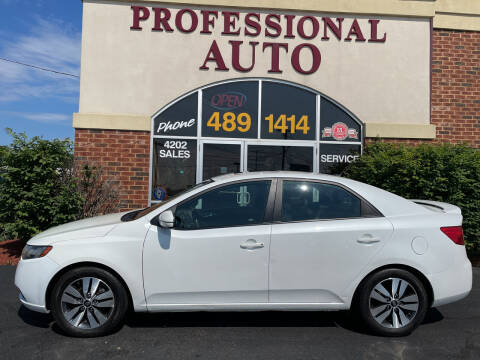 2013 Kia Forte for sale at Professional Auto Sales & Service in Fort Wayne IN