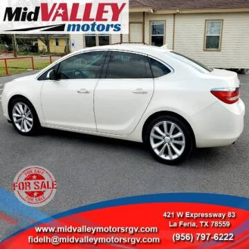 2012 Buick Verano for sale at Mid Valley Motors in La Feria TX
