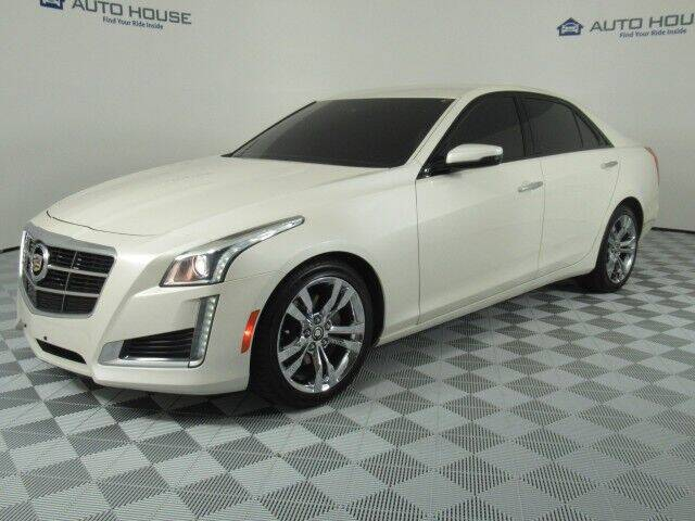 2014 Cadillac CTS for sale at Autos by Jeff Tempe in Tempe AZ