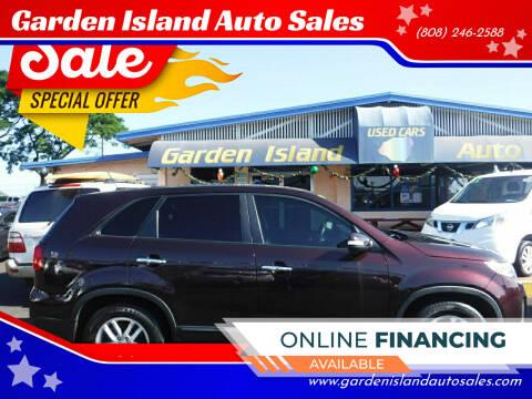 2014 Kia Sorento for sale at Garden Island Auto Sales in Lihue HI