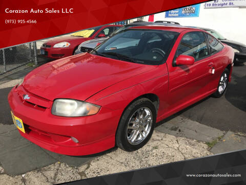 2005 Chevrolet Cavalier for sale at Corazon Auto Sales LLC in Paterson NJ