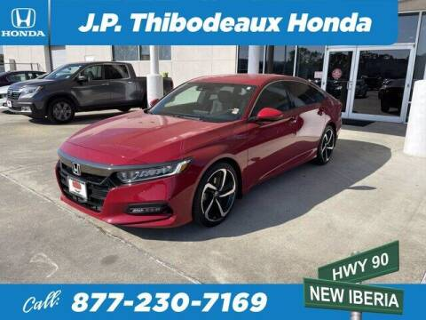 2018 Honda Accord for sale at J P Thibodeaux Used Cars in New Iberia LA