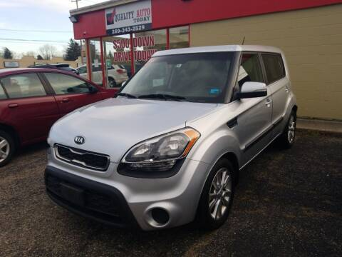2013 Kia Soul for sale at Quality Auto Today in Kalamazoo MI