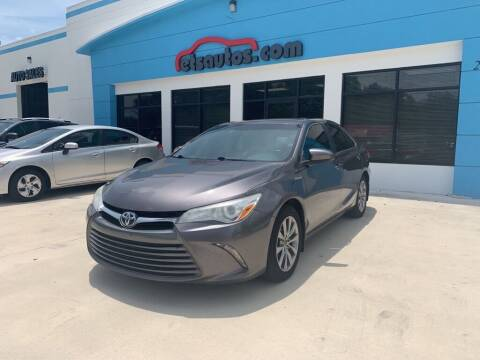 2016 Toyota Camry Hybrid for sale at ETS Autos Inc in Sanford FL