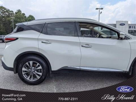 2017 Nissan Murano for sale at BILLY HOWELL FORD LINCOLN in Cumming GA