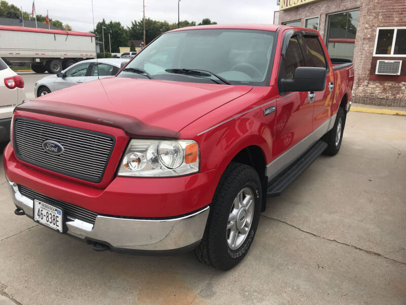 2005 Ford F-150 for sale at Mustards Used Cars in Central City NE