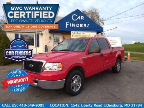 2007 Ford F-150 for sale at CAR FINDERS OF MARYLAND LLC in Eldersburg MD