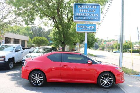 2015 Scion tC for sale at North Hills Motors in Raleigh NC