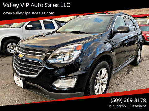 2017 Chevrolet Equinox for sale at Valley VIP Auto Sales LLC in Spokane Valley WA