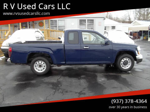 2009 GMC Canyon for sale at R V Used Cars LLC in Georgetown OH