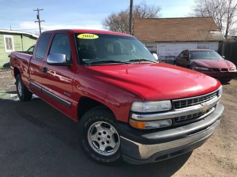 2001 Chevrolet Silverado 1500 for sale at 3-B Auto Sales in Aurora CO