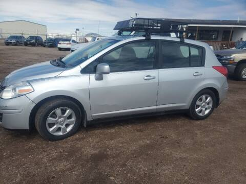 2009 Nissan Versa for sale at PYRAMID MOTORS - Fountain Lot in Fountain CO