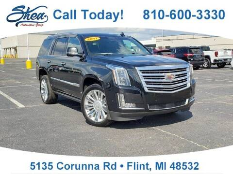 2017 Cadillac Escalade for sale at Erick's Used Car Factory in Flint MI