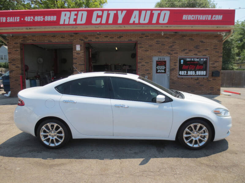2016 Dodge Dart for sale at Red City  Auto in Omaha NE