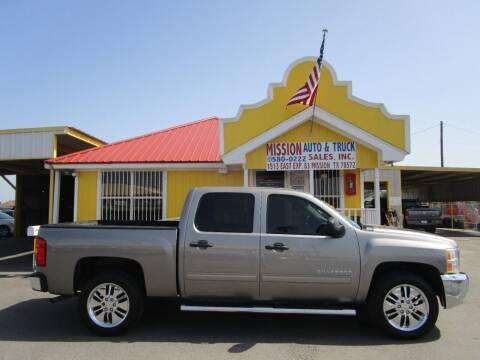 2012 Chevrolet Silverado 1500 for sale at Mission Auto & Truck Sales, Inc. in Mission TX