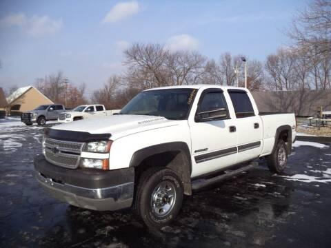 2005 Chevrolet Silverado 2500HD for sale at Hawkins Motors Sales - Lot 1 in Hillside MI