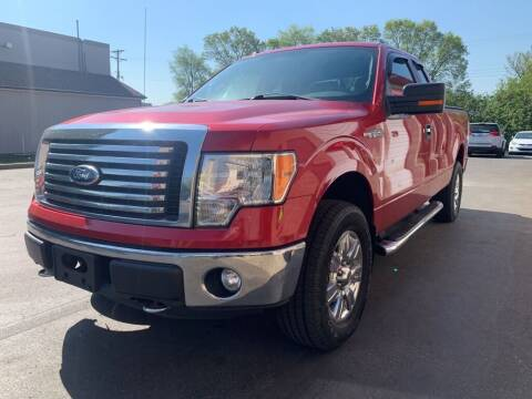 2012 Ford F-150 for sale at MIDWEST CAR SEARCH in Fridley MN