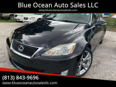 2009 Lexus IS 350 for sale at Blue Ocean Auto Sales LLC in Tampa FL