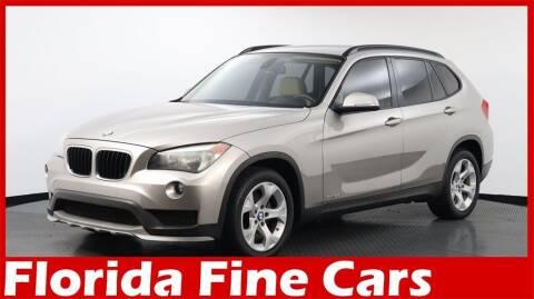 2015 BMW X1 for sale at Florida Fine Cars - West Palm Beach in West Palm Beach FL