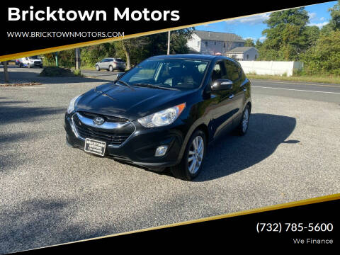 2010 Hyundai Tucson for sale at Bricktown Motors in Brick NJ