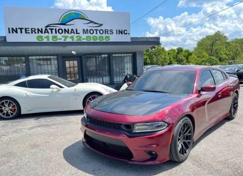 2017 Dodge Charger for sale at International Motors Inc. in Nashville TN