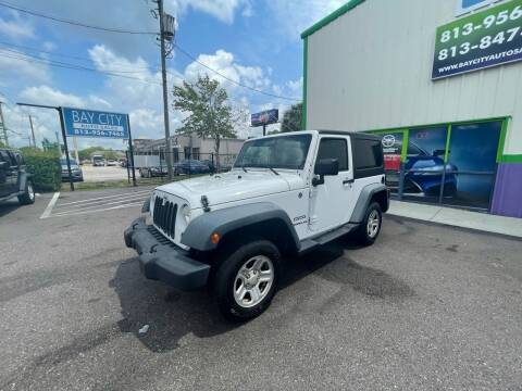 2012 Jeep Wrangler for sale at Bay City Autosales in Tampa FL