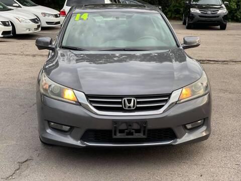 2014 Honda Accord for sale at Tonny's Auto Sales Inc. in Brockton MA
