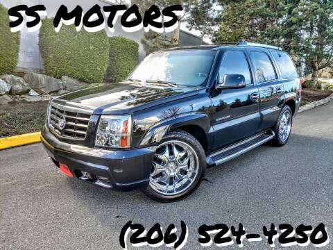 2002 Cadillac Escalade for sale at SS MOTORS LLC in Edmonds WA