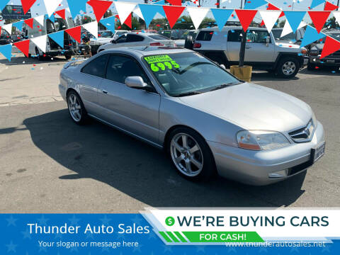 2001 Acura CL for sale at Thunder Auto Sales in Sacramento CA