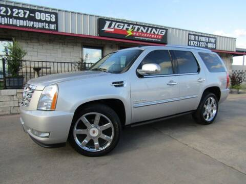 2011 Cadillac Escalade for sale at Lightning Motorsports in Grand Prairie TX