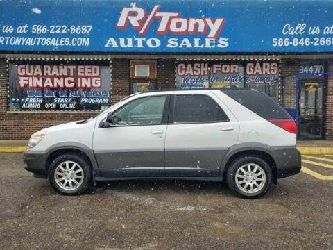 2005 Buick Rendezvous for sale at R Tony Auto Sales in Clinton Township MI
