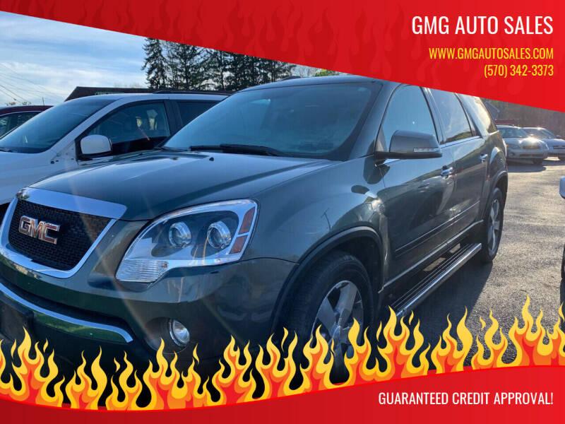 2011 GMC Acadia for sale at GMG AUTO SALES in Scranton PA