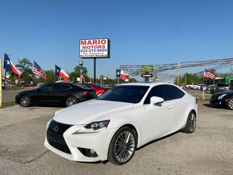 2014 Lexus IS 250 for sale at Mario Motors in South Houston TX