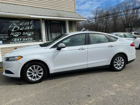 2015 Ford Fusion for sale at Real Deal Auto Sales in Auburn ME