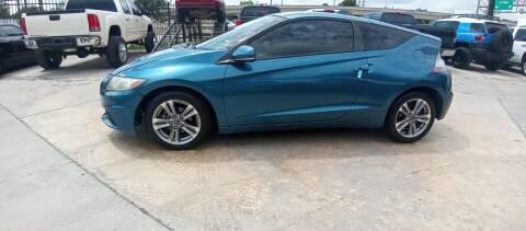 2013 Honda CR-Z for sale at AUTOTEX FINANCIAL in San Antonio TX