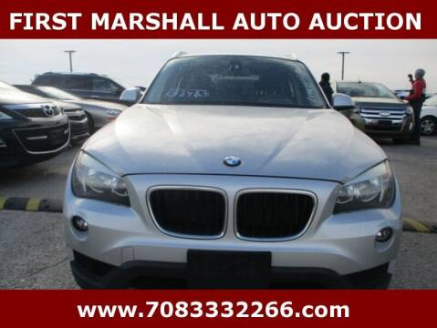 2013 BMW X1 for sale at First Marshall Auto Auction in Harvey IL
